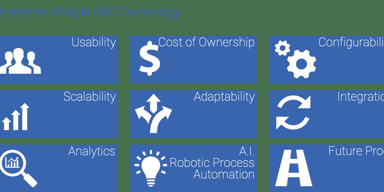 GRC 4.0 – Agile GRC in a Dynamic & Disrupted Organization