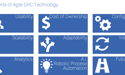 GRC 4.0 – Agile GRC in a Dynamic & Disrupted Organization