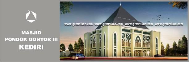grc masjid gontor 3 Kediri  GRC Artikon Indonesia