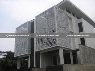 Panel Grc Krawangan ornamen mempercantik bangunan anda