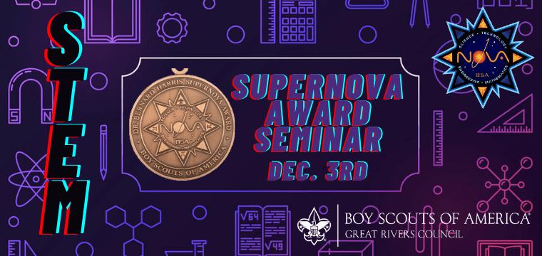 Supernova Award Seminar Website Banner