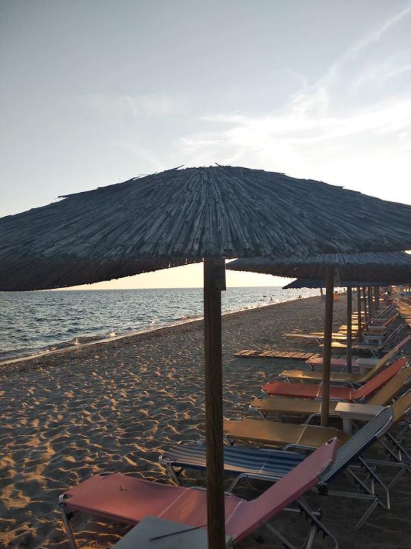 plaža patmos plaže u blizini soluna