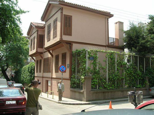 Rodna kuća Kemal Ataturka u Solunu (Fotografija: Kemal Cenk Sarioglu)