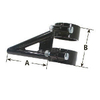 Clamp On Axle Mount Bracket For Panhard Bar