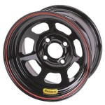 Bassett 13 x 8 x 4 Spun Black 4 on 4-1/2 Wheel