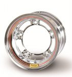 Bassett 15 x 14 x 6 Spun Chrome Wide Five Wheel