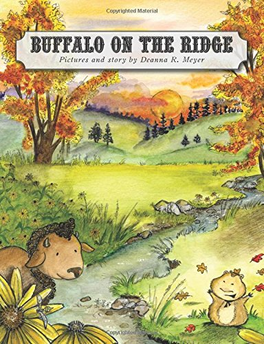 buffalo on the ridge, deanna meyer, children's book, illustrator, south dakota, native american, bison, prairie dog, custer state park, children's books about animals, children's books about state parks, children's books about the wild west, children's books about native americans, children's books about nature, children's books about wildlife, books about the united states, books about south dakota, books about custer state park, books about the black hills, children's books about custer state park, children's books about the black hills