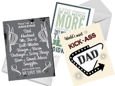 grease and grace, greeting cards, fathers day card, step dad card, dad card, husband on fathers day