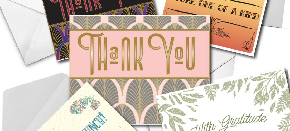 grease and grace, greeting cards, thank you card, gratitude card, appreciation card, wedding thank you card, thank you cards from bride, variety pack, card box sets, stationery, note cards