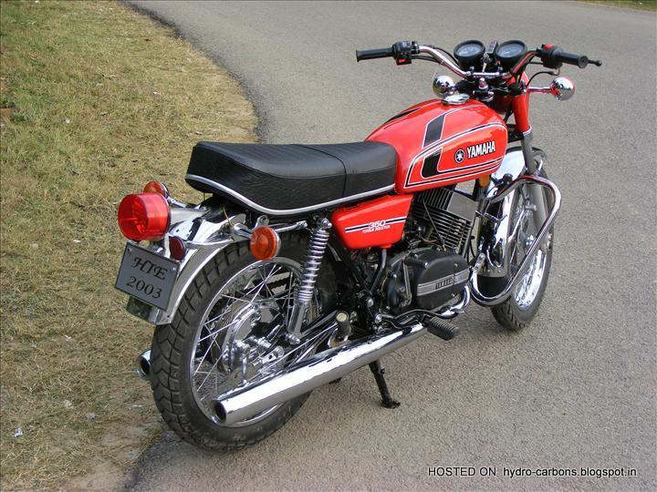 The YAMAHA RD 350 – WORLD'S REAL