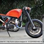 Ktm 525 Exc Cafe Moto Rsd Grease N Gasoline