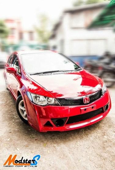 2014 Honda Civic Custom : honda, civic, custom, Honda, Civic, Mugen, Grease, Gasoline