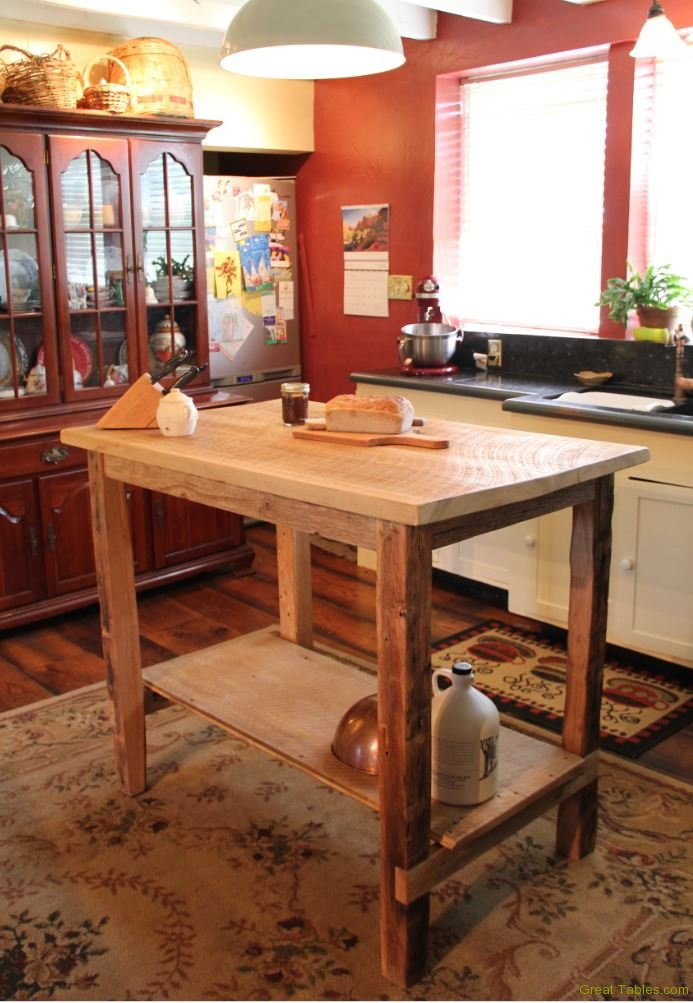 Kitchen Islands and Buffets  Reclaimed Wood Furniture in