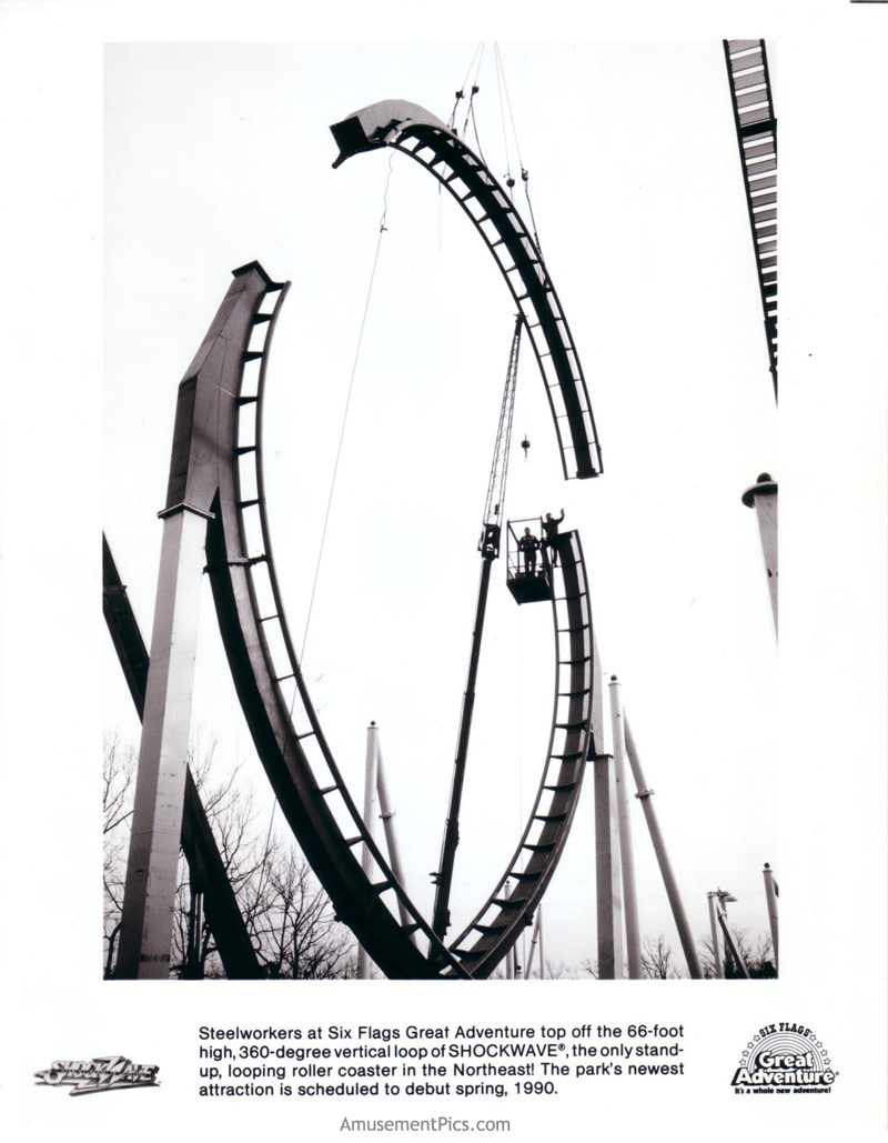 Shockwave at Six Flags Great Adventure