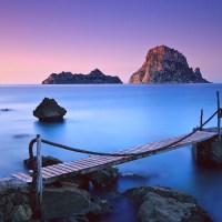 Amazing nature, blue sunset, purple sky