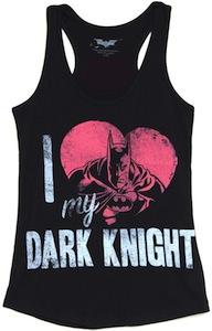 I Love My Dark Knight Sleeveless women's shirt
