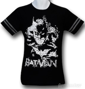 Batman Made Out OF Bats Glow In The Dark  T-shirt