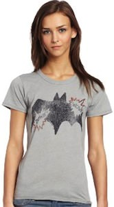 womens Batman logo t-shirt