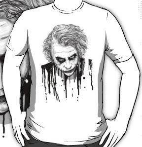 Heath Ledger As The Joker t-shirt