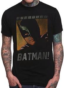 Batman face t-shirt