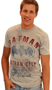 Batman Gotham City logo t-shirt