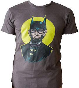 Abraham Lincoln As Batman T-Shirt