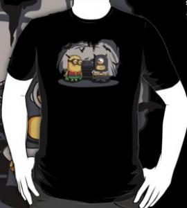 Batman And Robin Minion T-Shirt
