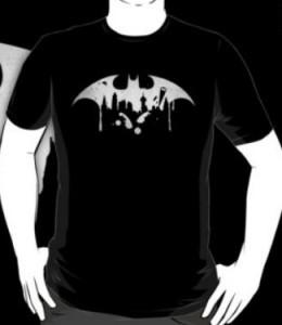 Bat Symbol Paint Splatter T-Shirt