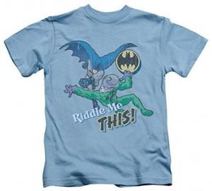 Junior Batman And Joker Riddle Me This T-Shirt