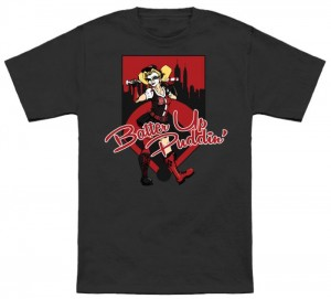 Harley Quinn Batter Up Puddin T-Shirt