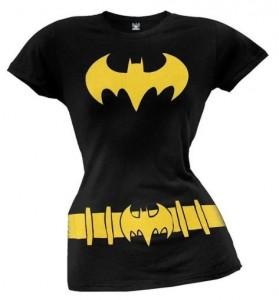 Batman Batgirl Costume T-Shirt