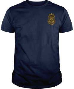 Arkham Knight Gotham Police Badge T-Shirt