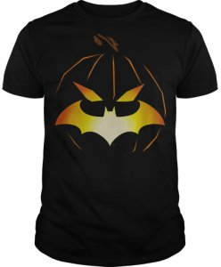 Batman Logo Jack O Bat T-Shirt