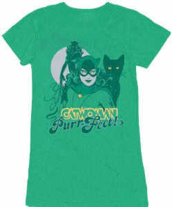 Catwoman Purrfect Women's T-Shirt