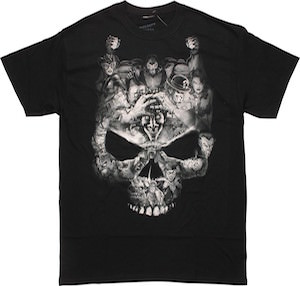 Villains Skull T-Shirt