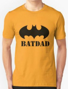 Bat Symbol Bat Dad T-Shirt