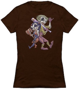 Comic Harley Quinn And The Joker T-Shirt