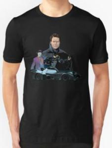 Retro Batman Painting T-Shirt