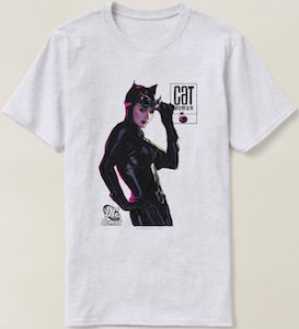 Catwoman Staring At You T-Shirt