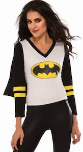 Batman Long Sleeve Women's Shirt With Cape