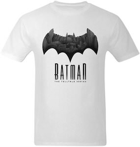 Batman The Telltale Series Logo T-Shirt