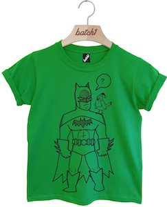 Batman And A Christmas Robin Kids T-Shirt