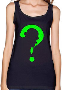 The Riddler Silhouette Tank Top