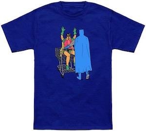 Batman And Robin Shopping T-Shirt