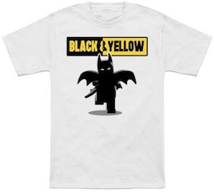 LEGO Batman Black & Yellow T-Shirt