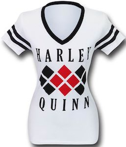 Women's White Harley Quinn T-Shirt
