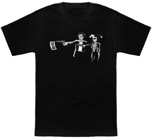 Harley And Joker Fiction T-Shirt