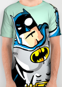 Batman Comic Painting T-Shirt