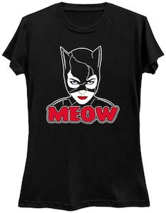 Catwoman Meow T-Shirt