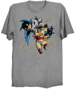 Wonder Woman Carries Batman T-Shirt